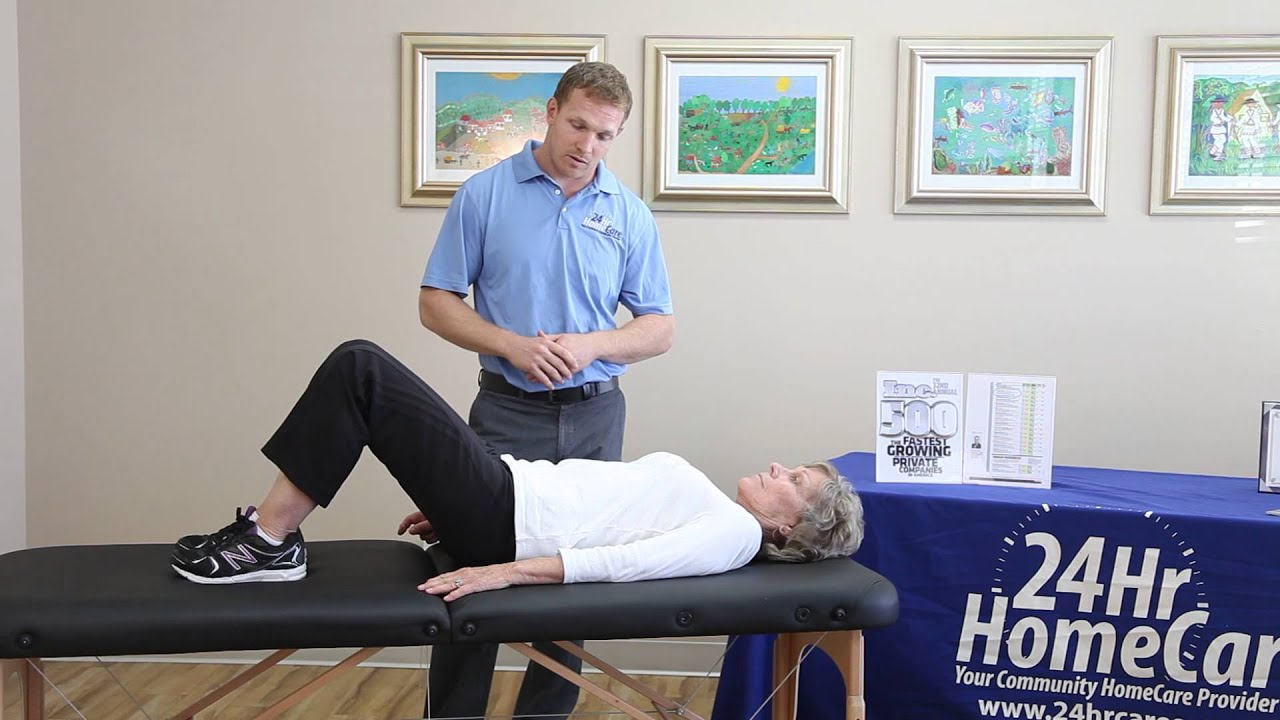 Physical Therapy Exercises for Seniors Hip Replacement Exercises
