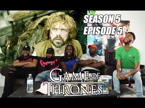 "Game Of Thrones Season 5 Episode 5 ""Kill The Boy""  Reaction/Review"