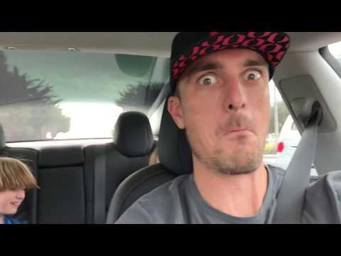 Tesla Model 3 - auto wipers, auto pilot, auto road trip
