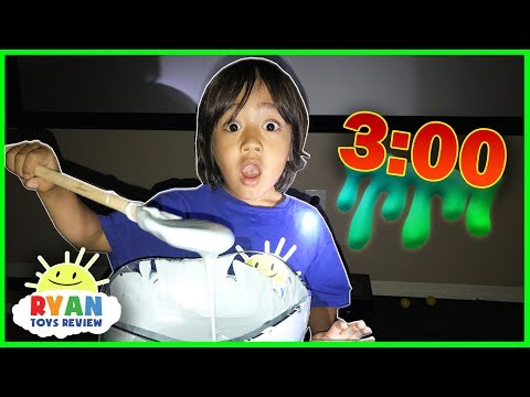Thumbnail: DO NOT MAKE FLUFFY SLIME AT 3am or 3pm! Omg so scary 3am Challenge