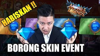 SULTAN NGABISIN DIAMOND BORONG SKIN EVENT - Mobile Legend Bang Bang