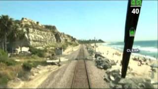Amtrak Pacific Surfliner Cab Ride LA to San Diego DVD
