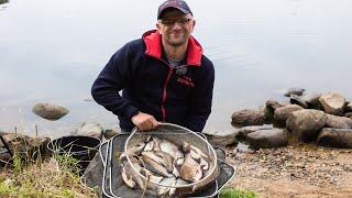 Рыбалка 2020.  Ловля леща на водоеме с переменным течением.