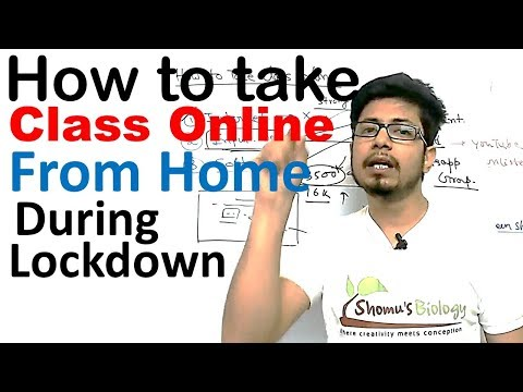 How To Take Class Online During Lockdown | How To Teach Online?