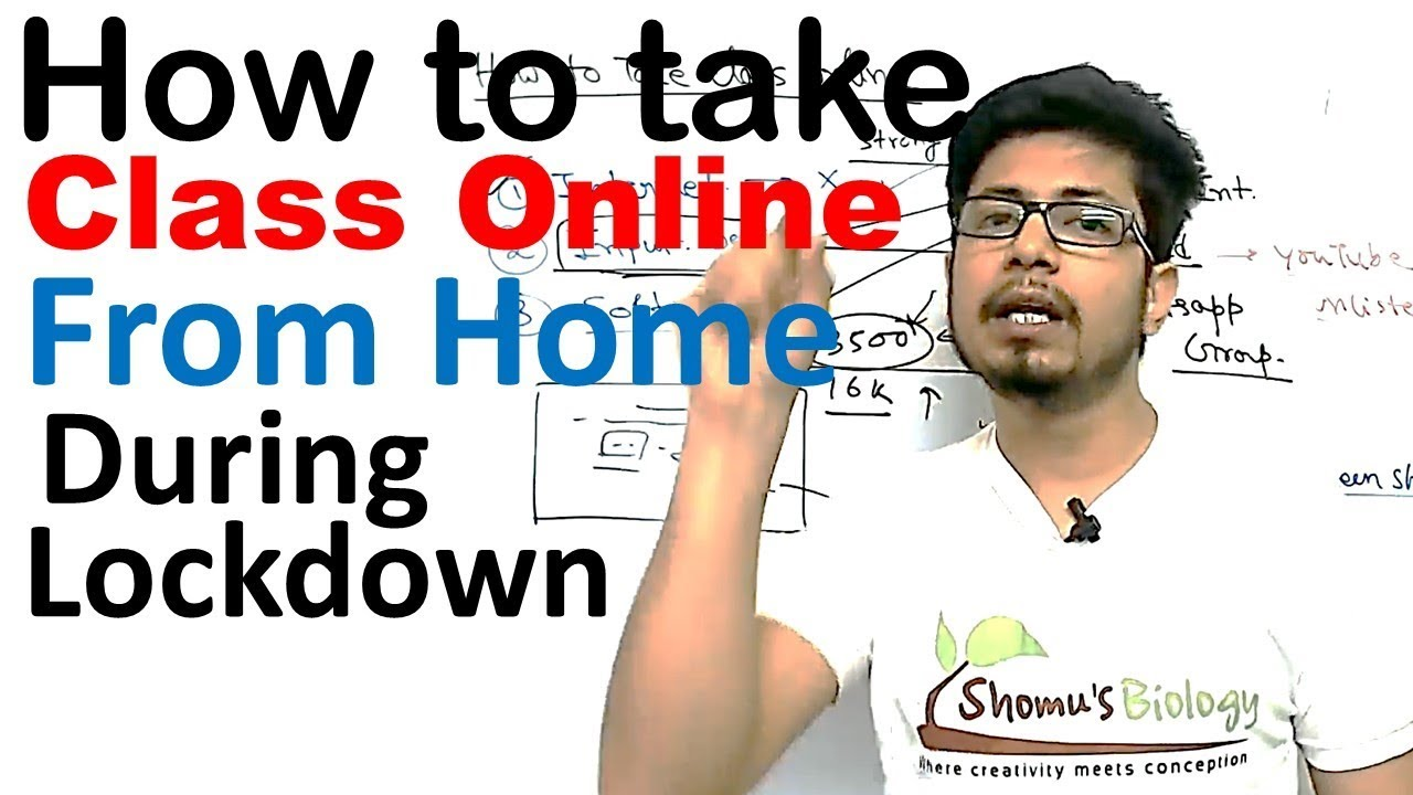 How To Take Class Online During Lockdown How To Teach Online - Online Classes Youtube