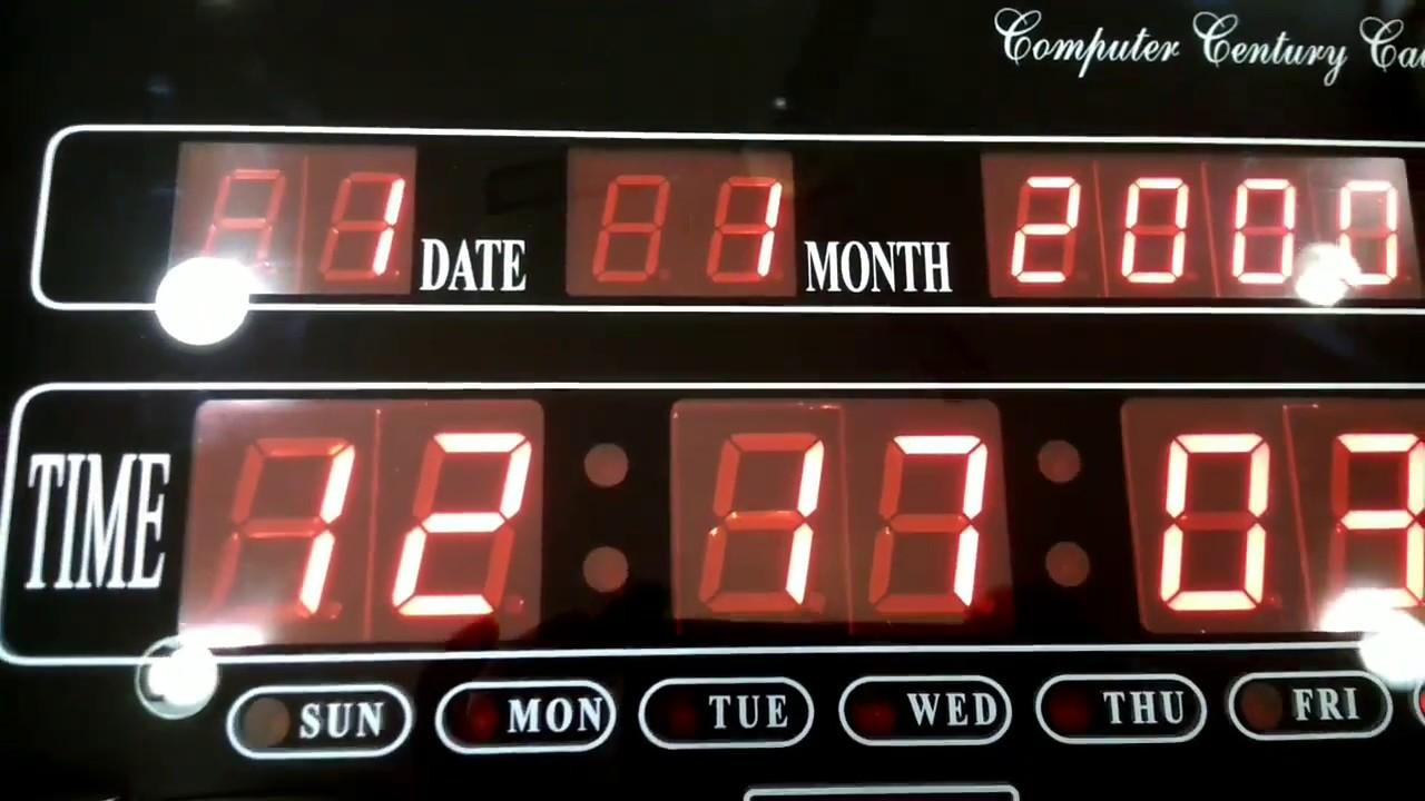Ajanta Digital LED Wall Clock Setting and Configuration full