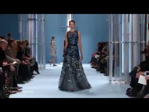 Desfile Carolina Herrera Outono-Inverno 2015/2016: elegância ao mais puro estilo clássico