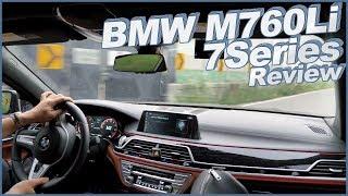 BMW M760Li 2억 넘는 BMW 7시리즈 시승기 ♥ 럭셔리 세단? 슈퍼카? [ Car Review 6600cc V12 7 Series 609마력 ] 소닉 리뷰 #46 ♥