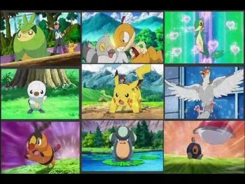 Ash isshu team / Black and White Last Update 9 Pokemon`s ...