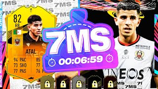 THE GOAT OF FIFA!! 82 RTTF YOUCEF ATAL 7 MINUTE SQUAD BUILDER!! - FIFA 21 ULTIMATE TEAM