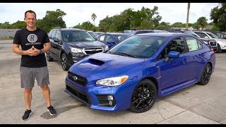 What are the MAJOR changes for the  2020 Subaru WRX?