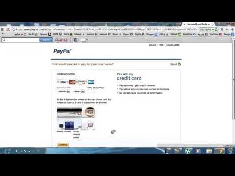 شرح طريقة انشاء حساب باي بال Paypal