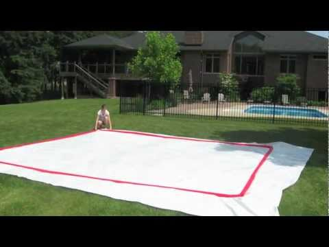How To Build A Backyard Rink By RinkMaster Canada YouTube - Backyard roller hockey rink