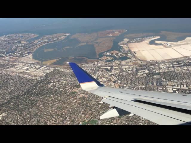 Landing at San Francisco Airport