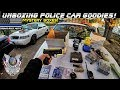 Unboxing Police Car Goodies Mystery Boxes! (December) Crown Rick Auto