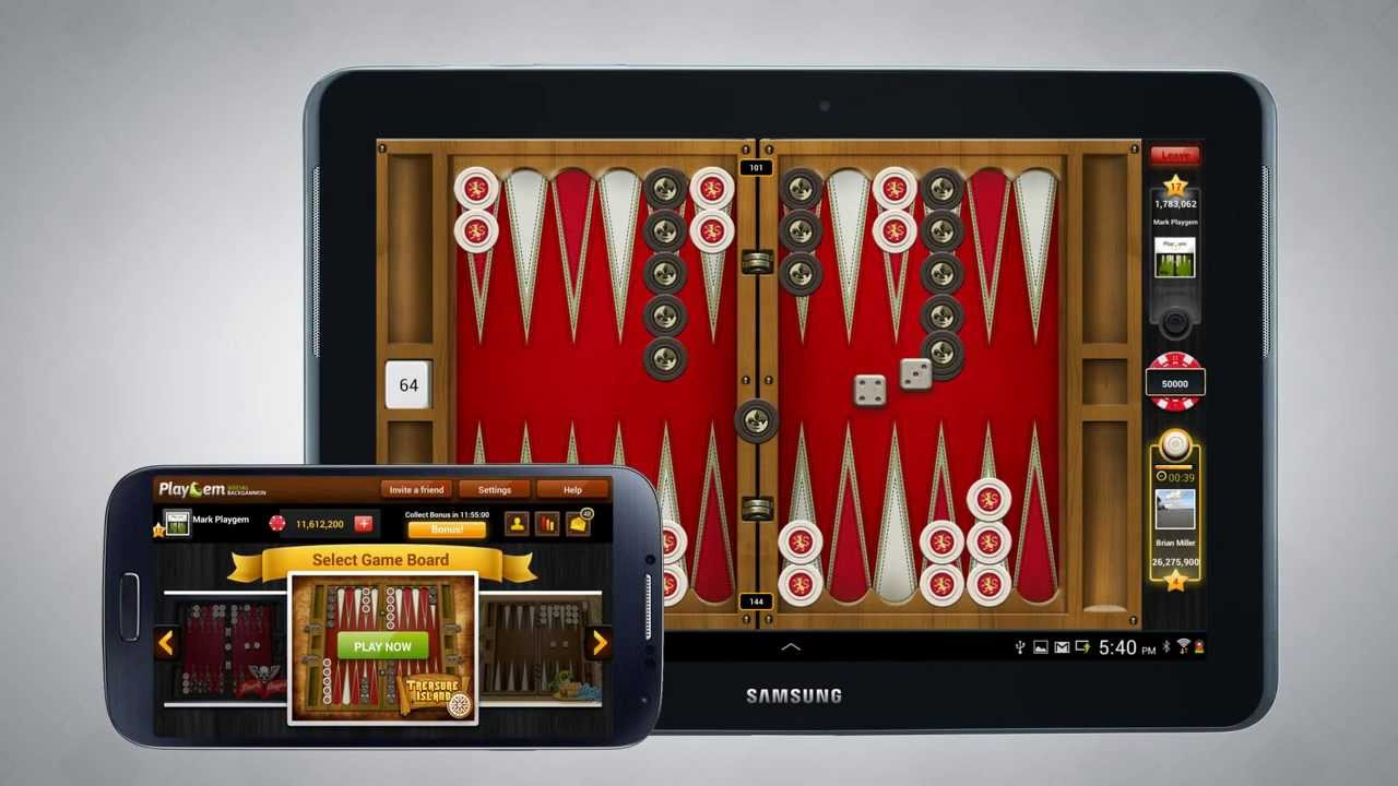 Backgammon on facebook