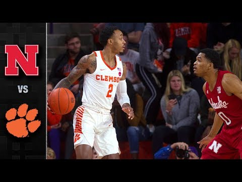 Nebraska vs. Clemson Basketball Highlights (2018-19)