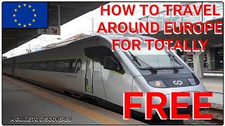 HOW TO TRAVEL AROUND EUROPE FOR FREE | A guide to DiscoverEU.