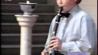 Alexey Gorokholinsky, Adagio for Clarinet and Piano by Casadesus