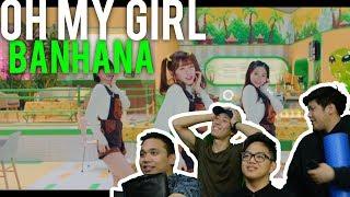 "Video OH MY GIRL BANHANA - ""BANANA ALLERGY MONKEY"" (MV Reaction) download MP3, 3GP, MP4, WEBM, AVI, FLV Juni 2018"