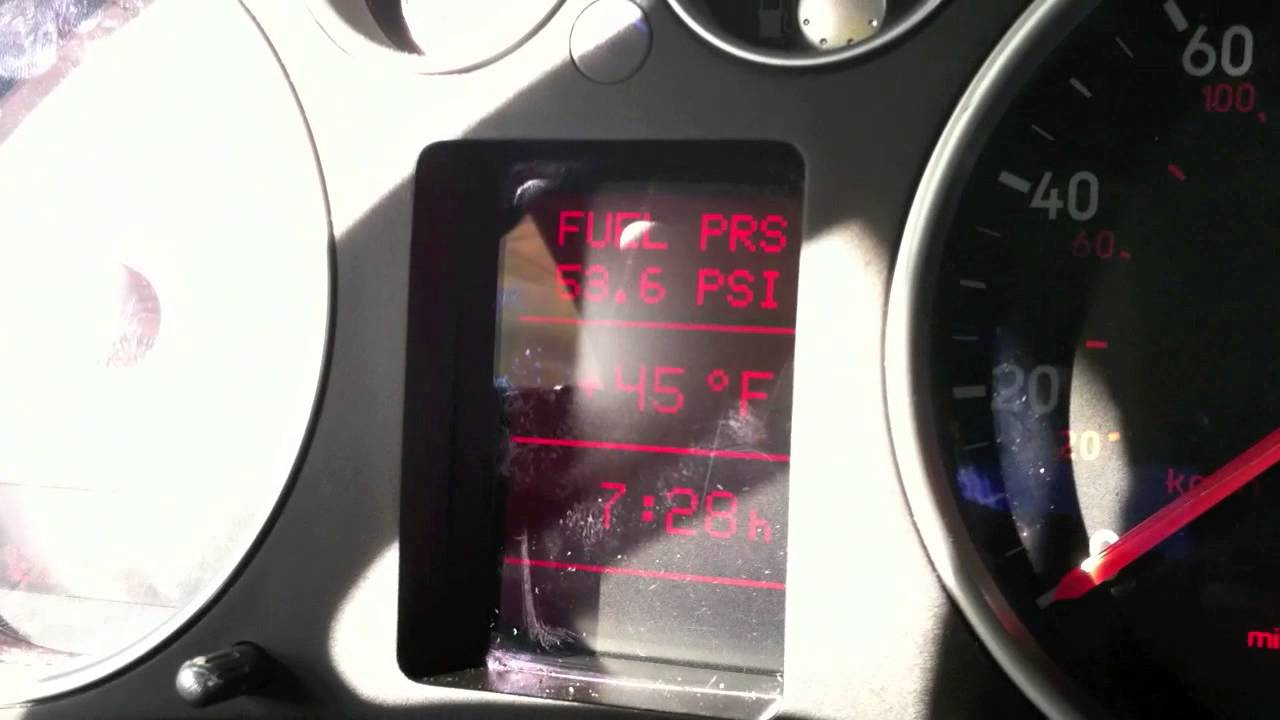 Fuel Pressure Regulator check