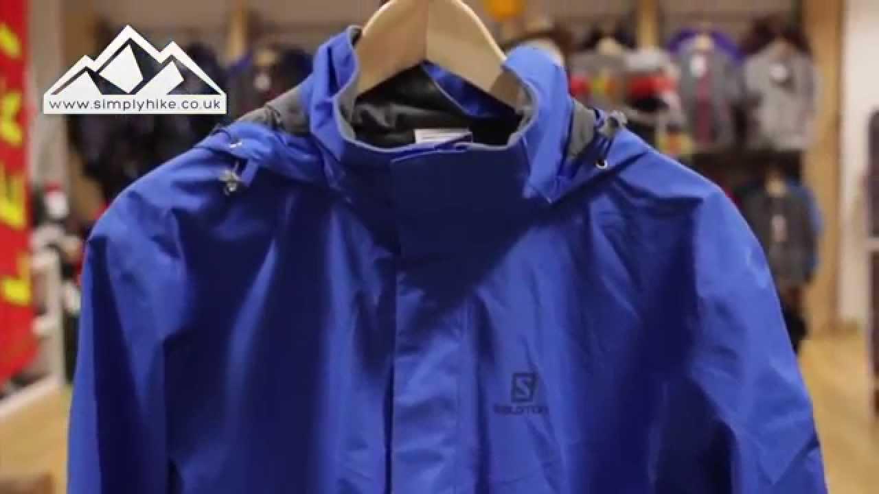 Salomon Elemental Jacket - www.simplyhike.co.uk - YouTube 022697e1b2