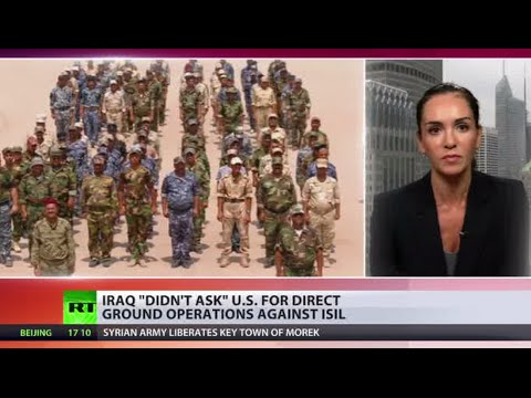 'We have enough soldiers': Iraq 'never asked' US for ground ops against ISIS
