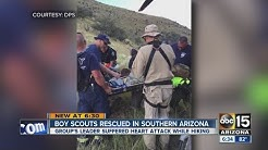 Boy Scouts rescued in southern Arizona