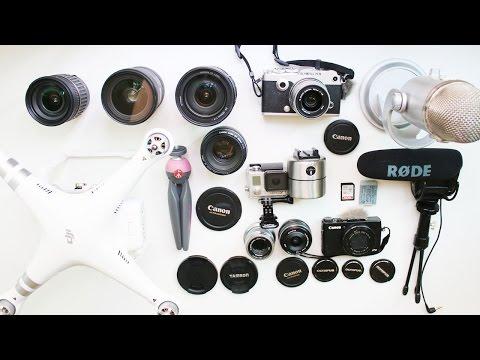 我的拍攝器材 MY FILMING GEAR | Bethni Y
