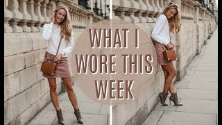 OUTFIT DIARIES // WHAT I WORE THIS WEEK // FASHION MUMBLR