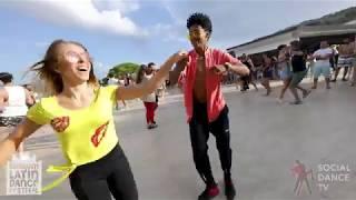 Gaby & Estefy - Bachata Social Dancing | Bodrum Latin Dance Festival 2018