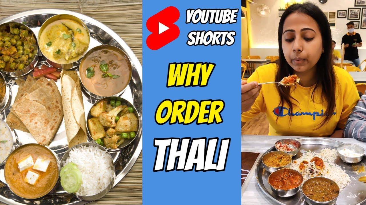 Why you should order Thali? 😋 #shorts #nonvegthali