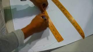cara membuat pola kemeja#1