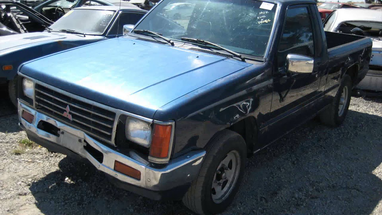 1987 mitsubishi mighty max specs