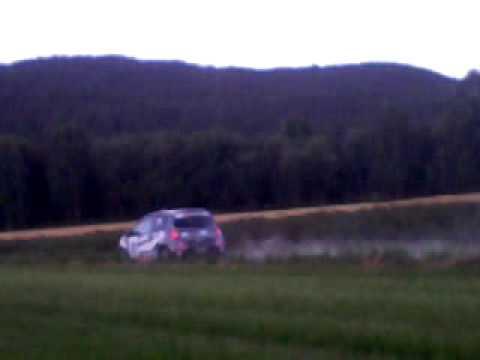 Brøve kjøring til rally telemark i notodden