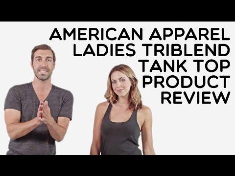 Custom Ladies American Apparel Tri-Blend 50/25/25 Tank Top Product Review