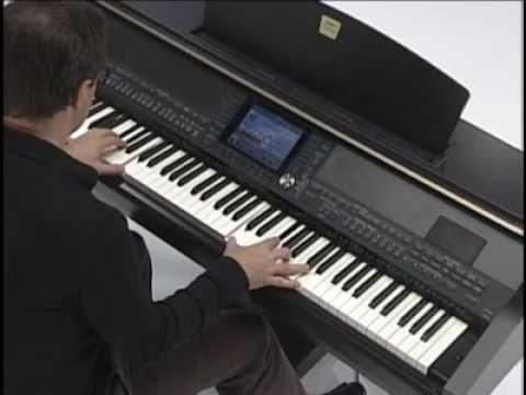 Clavinova CVP - Organ Flutes
