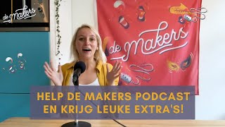 Steun De Makers Podcast via Petje Af! Check deze video voor exclusieve previews!!