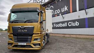 New 2020 MAN TĠX test drive and first impressions. Truck & Driver Magazine
