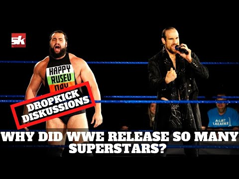 Why did WWE release so many Superstars?   Dropkick DiSKussions Podcast