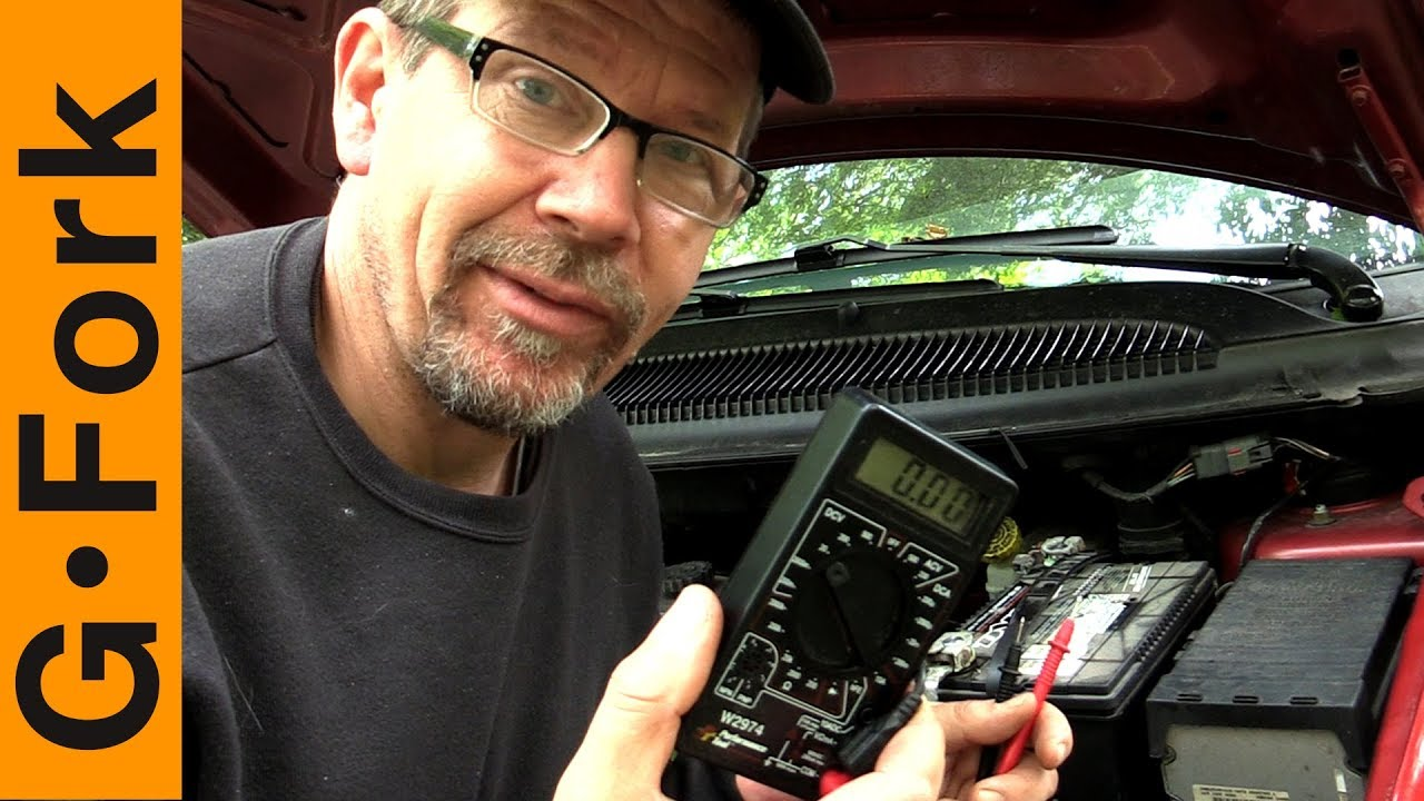 Is Your Car Battery Dead Quick Way To Check Battery And Test Alternator Youtube