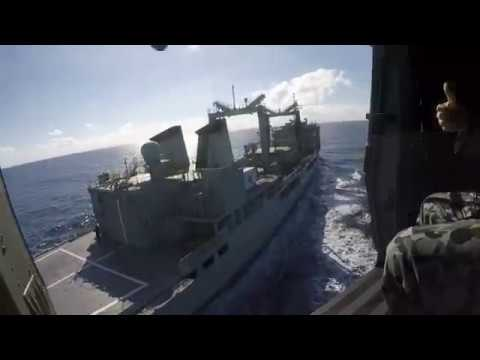 HMAS Success RAS Day 16 July 2017
