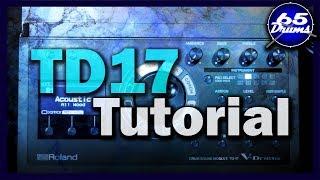 Roland TD17 Indepth Tutorial