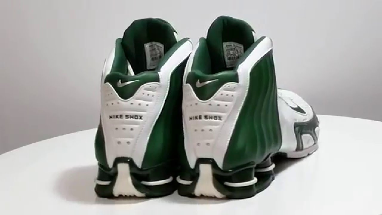 NIKE 311739-131 SHOX Lethal Tb Basketball High Tops Green White Shoes Size  13.5 - YouTube