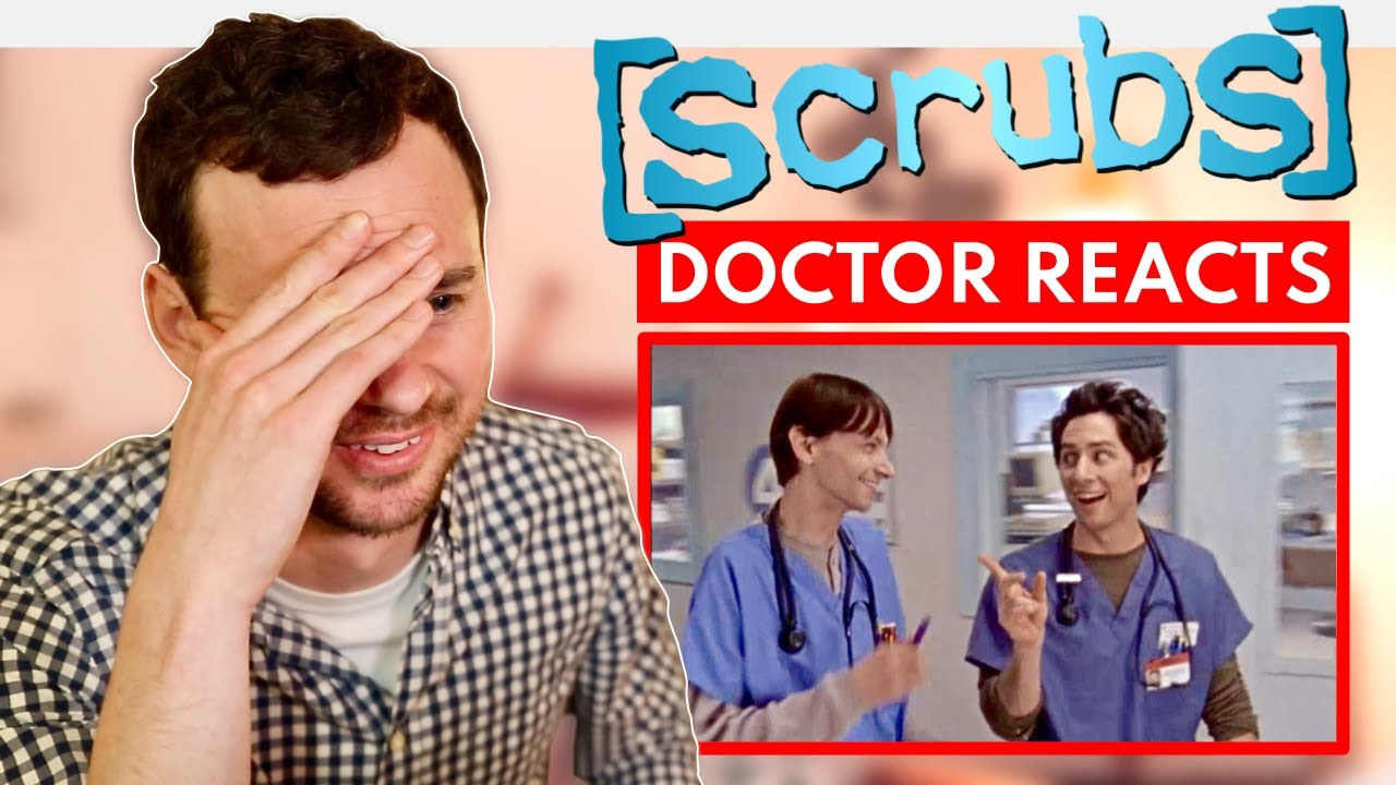 """Real DOCTOR reacts to SCRUBS """"My Student"""""""
