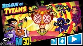 TEEN TİTANS GO! TİTANS OYUN KURTARMA (Cartoon Network Oyunları)