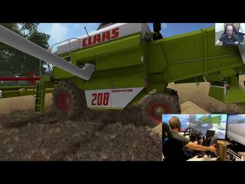 Farming Simulator 17 lets play Ballymoon Castle E7 wheel+joystick