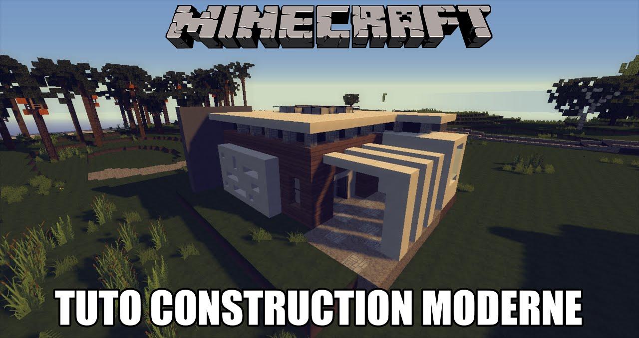 Minecraft Tuto Maison Moderne 2 Youtube