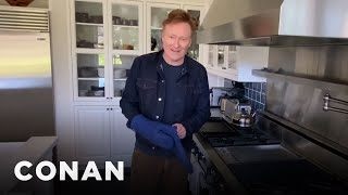 What Conan Is Baking At Home - CONAN on TBS