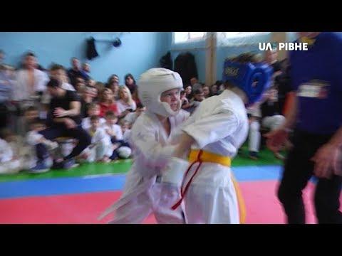 Телеканал UA: Рівне: Відкритий Чемпіонат області з карате серед юніорів відбувся сьогодні у Рівному